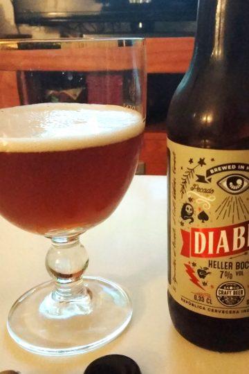 Cerveza Diablo, de SaOco Craft Beer.
