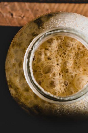 Levadura y cerveza