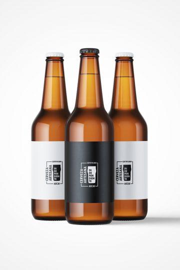 Las nuevas etiquetas de 'cerveza artesana e independientes' propuestas por AECAI.